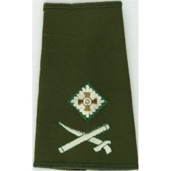 Officer's Rank Star (Pip) - 11.5mm Side Light Infantry  Bronze Officer rank badge