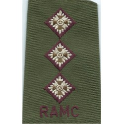 RM (Royal Marines) Large - Pre-1964  Anodised Army Staybrite shoulder title