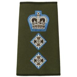 RAOC (Royal Army Ordnance Corps)   Anodised Army Staybrite shoulder title