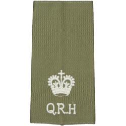 DWR (Duke Of Wellington's Regiment) Anodised Army Staybrite shoulder title