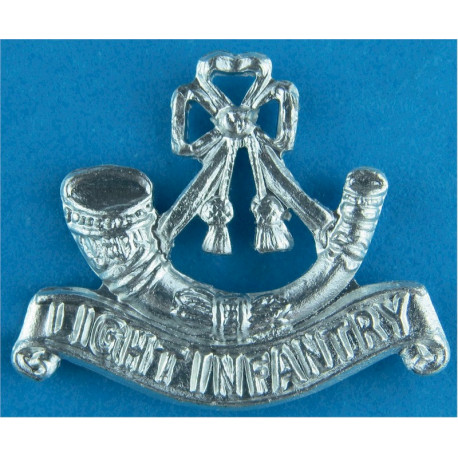 Bugle / Light Infantry Mouthpiece FR  Anodised Army Staybrite shoulder title