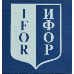 IFOR Armband With IFOR Badge Printed On Plastic  Printed Arm-Band or Brassard