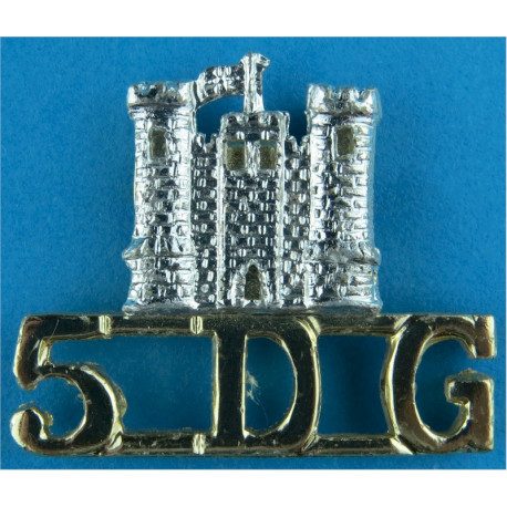 AUR (Adelaide University Regiment) Australian Army Anodised Army Staybrite shoulder title