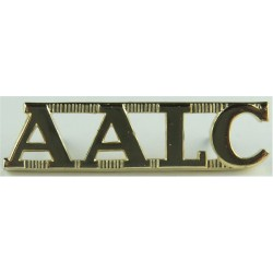 AALC (Australian Army Legal Corps)   Anodised Army Staybrite shoulder title