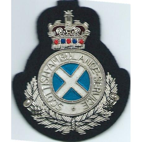 SJAB (St John Ambulance Brigade) Shoulder Title Chrome-plated Ambulance Insignia