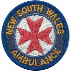Australia - New South Wales Ambulance Arm Badge  Embroidered Ambulance Insignia