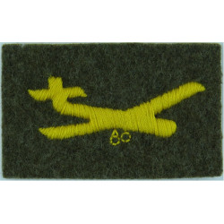 Royal Artillery: 40 Fd Regt:38 (Seringapatam) Fd Bty 1st Gulf War - Green  Woven Regimental cloth arm badge