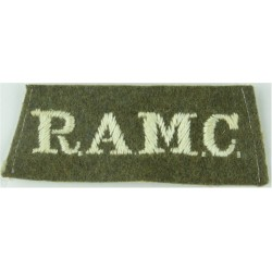 Infantry Training Centre Catterick: Falaise Company Pre-2004  Embroidered Slip-on Army cloth shoulder title