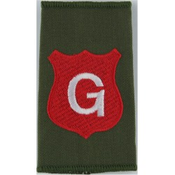 Infantry Training Centre Catterick: Gallipoli Coy Pre-2004  Embroidered Slip-on Army cloth shoulder title