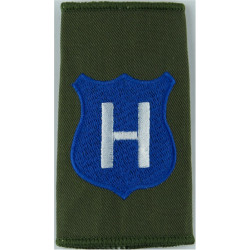 Infantry Training Centre Catterick: Hook Company Pre-2004  Embroidered Slip-on Army cloth shoulder title