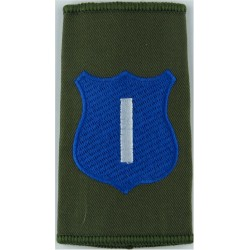 Infantry Training Centre Catterick: Imphal Company Pre-2004  Embroidered Slip-on Army cloth shoulder title