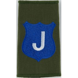 Infantry Training Centre Catterick: Java Company Pre-2004  Embroidered Slip-on Army cloth shoulder title