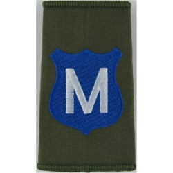 Infantry Training Centre Catterick: Minden Company Pre-2004  Embroidered Slip-on Army cloth shoulder title