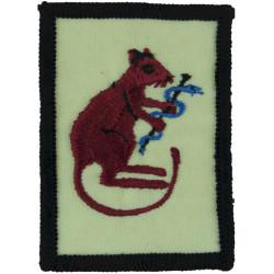 RAMC: 205 (Scottish) General Hospital 'Medic Rat' Gulf Issue  Embroidered Regimental cloth arm badge