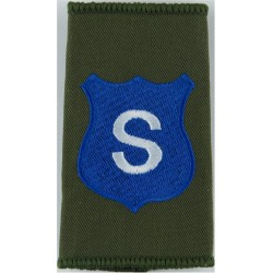 Infantry Training Centre Catterick: Somme Company Pre-2004  Embroidered Slip-on Army cloth shoulder title
