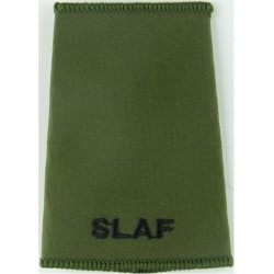 SLAF (Sri Lanka Air Force) Black On Olive Green  Embroidered Foreign Air Force insignia