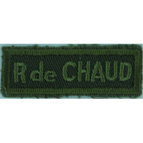 Australian / Press Correspondent - With Border Yellow On Dark Green Embroidered Non-British Army shoulder title