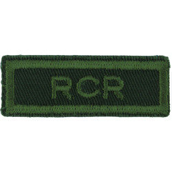 56 FD SQN (56th Field Engineer Squadron - Canada) Green On Olive Embroidered Non-British Army shoulder title