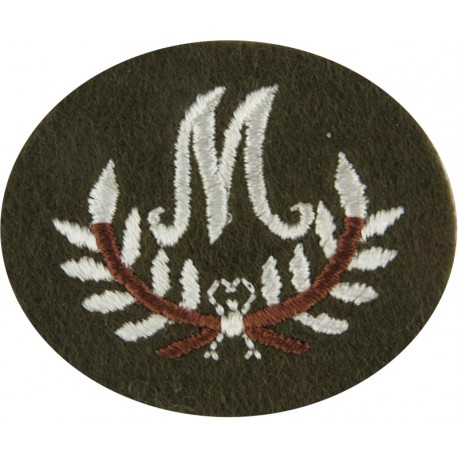Tank Transporter Class 1 - On Khaki Rectangle Tank On Transporter Embroidered Army cloth trade badge