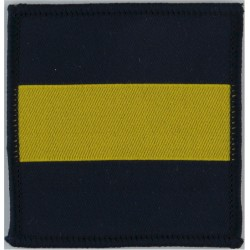 Princess Of Wales's Royal Regiment (Blue/Yellow/Blue See SOLDIER 09Dec96  Woven Regimental cloth arm badge