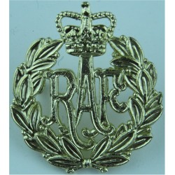 Royal Air Force Other Ranks with Queen Elizabeth's Crown. Anodised Air Force Badge