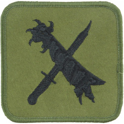 RAF Regiment - 48 Squadron Claw & Bayonet  Embroidered Air Force Badge