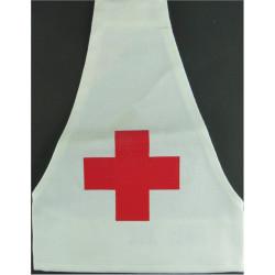 Red Cross White Brassard - Royal Navy Issue   Printed Arm-Band or Brassard