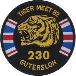 230 Sqn RAF (Tiger Meet 1982 - RAF Gutersloh) Puma Helicopter Sqn  Woven Air Force Badge