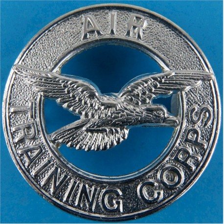 Air Training Corps   Chrome-plated Air Force Badge