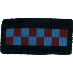 603 (City Of Edinburgh) Squadron RAuxAF Diced Strip  Woven Air Force Badge