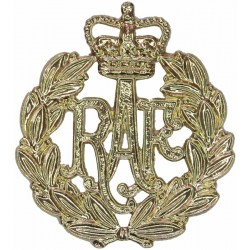 Women's Royal Air Force Full Size - Sew-On with Queen Elizabeth's Crown. Anodised Air Force Badge