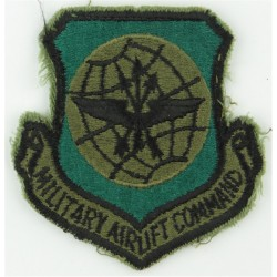 Military Airlift Command - USAF Subdued  Embroidered United States Air Force insignia