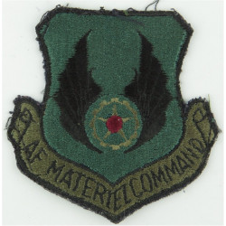 Air Force Materiel Command - USAF Subdued  Embroidered United States Air Force insignia