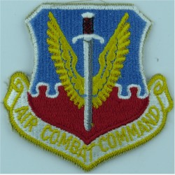 Air Combat Command - USAF Colour  Embroidered United States Air Force insignia