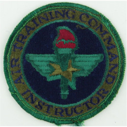 Air Training Command Instructor - USAF Subdued  Embroidered United States Air Force insignia
