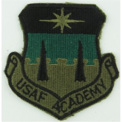 USAF Academy Subdued  Embroidered United States Air Force insignia
