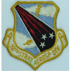 Flight Sergeant Aircrew - Eagle FR Slip-On Rank Badge Queen's Crown. Woven Air Force Rank Badge