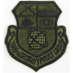Air Training Corps Adult Warrant Officer Rank Crown Slip-On Rank Badge with Queen Elizabeth's Crown. Woven Air Force Rank Badge