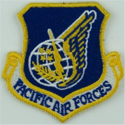 Pacific Air Forces - USAF Colour  Embroidered United States Air Force insignia