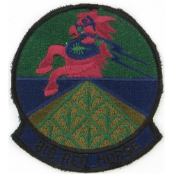 819 Red Horse Squadron - USAF Subdued  Embroidered United States Air Force insignia