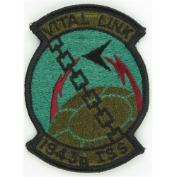 1943d ISS - USAF (Vital Link) Subdued  Embroidered United States Air Force insignia
