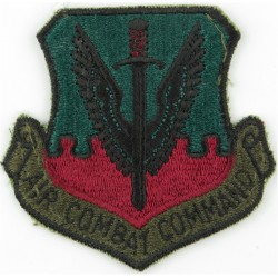 Air Combat Command - USAF Subdued  Embroidered United States Air Force insignia