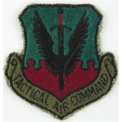 Tactical Air Command - USAF Subdued  Embroidered United States Air Force insignia
