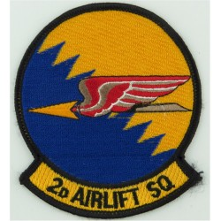 Sergeant Slip-On Rank Badge Woven Air Force Rank Badge