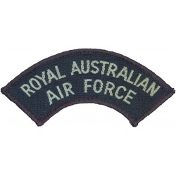 Junior Corporal CCF (RAF Section) Slip-On Rank Badge  Woven Air Force Rank Badge