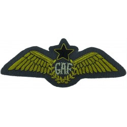 Ghana Air Force Pilots Wings   Bullion wire-embroidered Foreign Air Force insignia