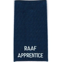 RAAF Apprentice (Royal Australian Air Force) Shoulder Slide  Embroidered Foreign Air Force insignia