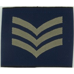 Sergeant Slip-On Rank Badge  Woven Air Force Rank Badge