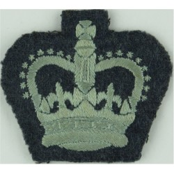 5131 Bomb Disposal Sqn Chief Technician Rank Slide Black On Sand Embroidered Air Force Rank Badge