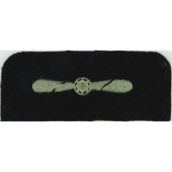 1 Air Control Centre Senior Aircraftman Black On Olive Green Embroidered Air Force Rank Badge